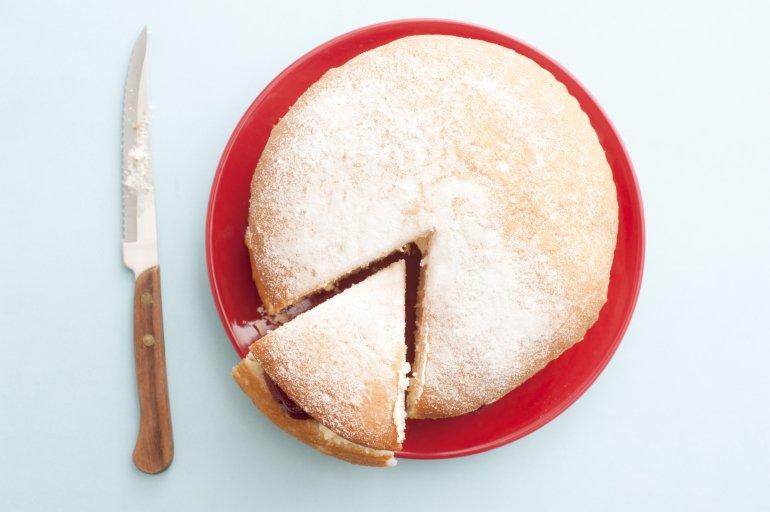 Use Round Cake Pan As Trace