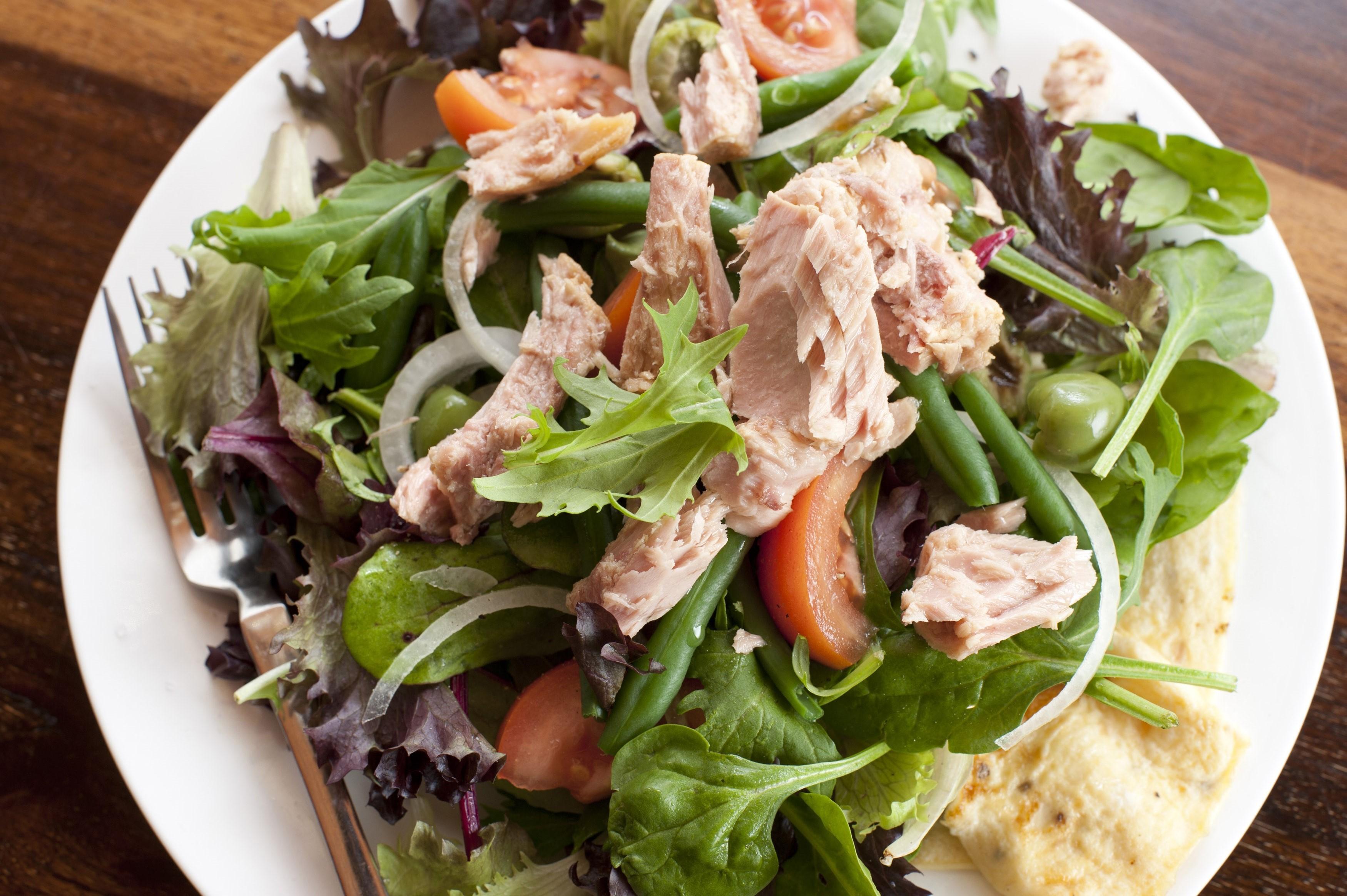 Tuna nicoise salad free stock image for Best tuna fish salad