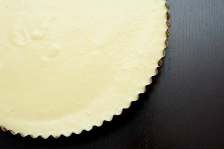Plain Baked Cheesecake Free Stock Image